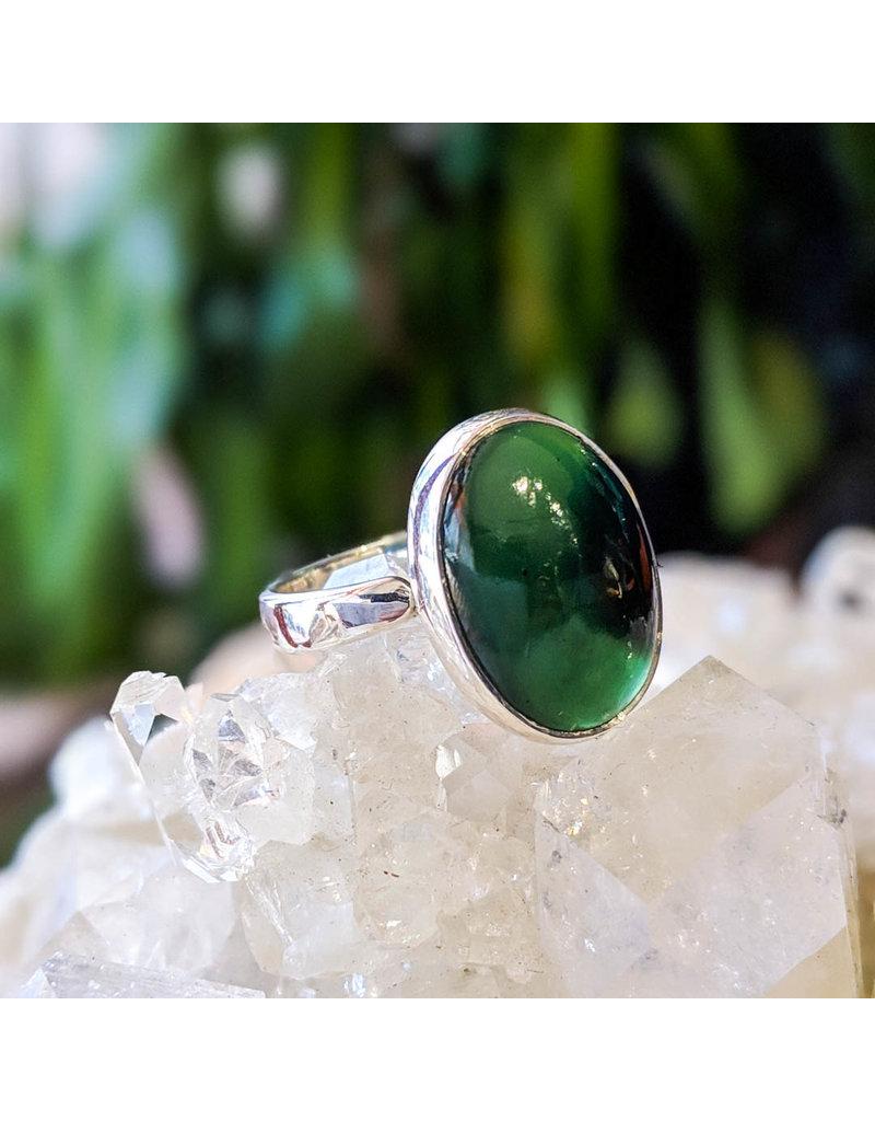 Sanchi and Filia P Designs Nephrite Jade Ring