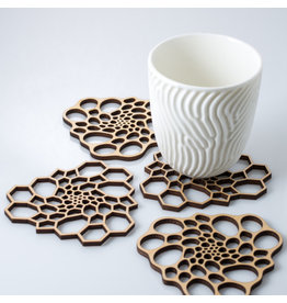 Radiolaria Coaster Set