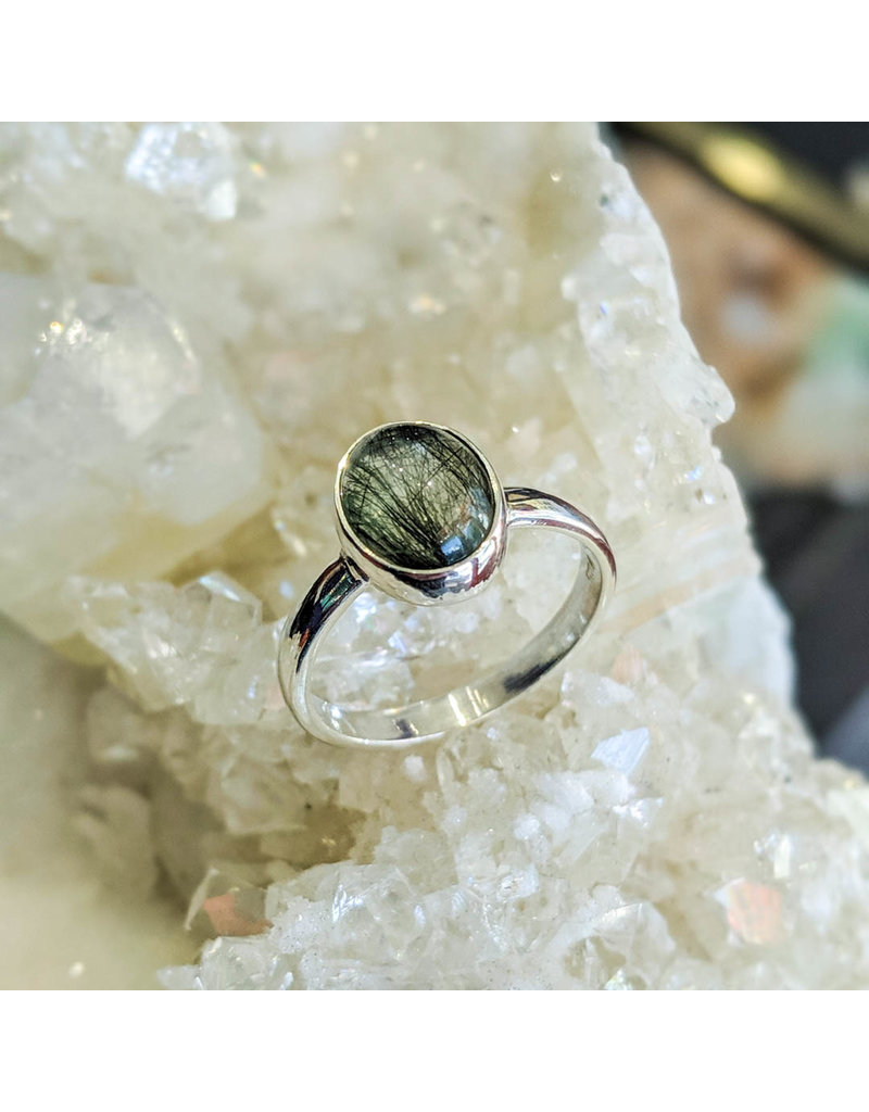 Rutile Quartz Ring 7