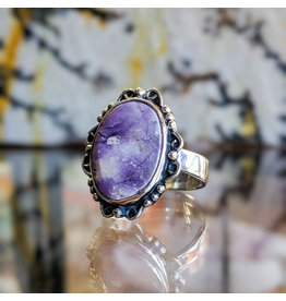 Sanchi and Filia P Designs Opalized Fluorite Ring 7.5