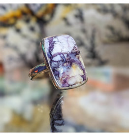 Sanchi and Filia P Designs Opalized Fluorite Ring