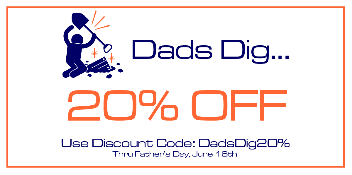 Father's Day Sale Ends ... on Father's Day!