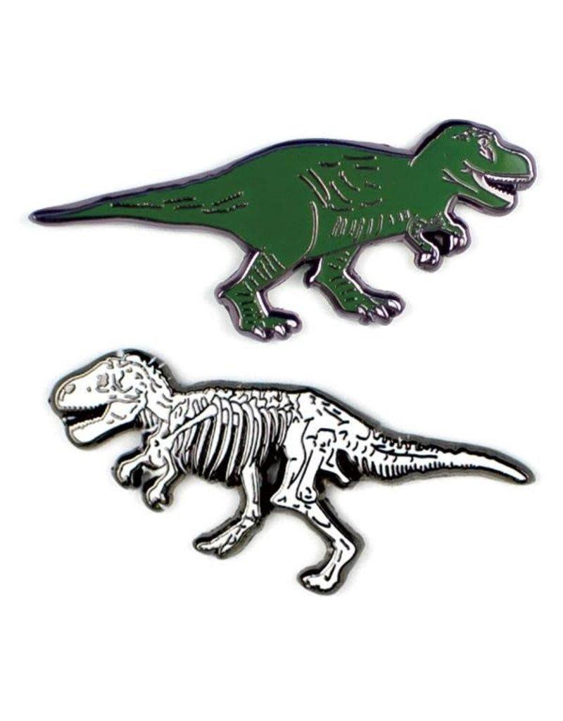 The Unemployed Philosophers Guild T. Rex & T. Rex Fossil Pins