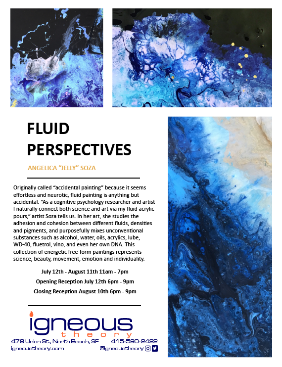 "Fluid Perspectives by Angelica ""Jelly"" Soza"