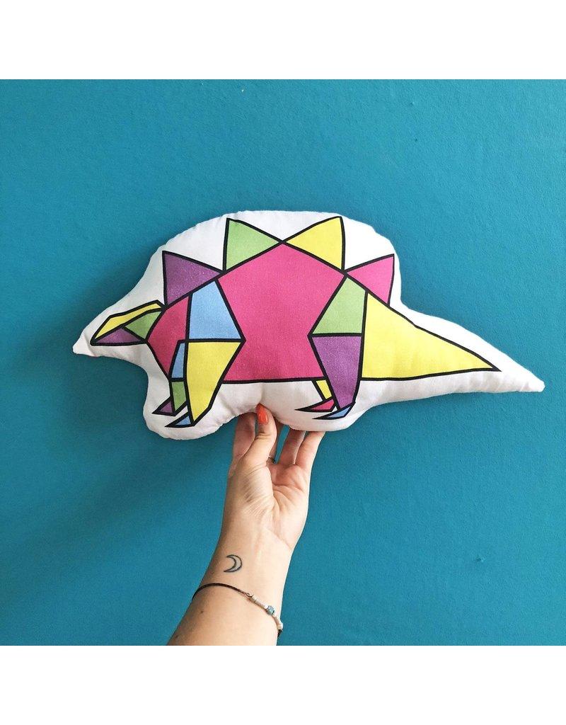 ThriftBoxUK Stegosaurus Dinogami Pillow