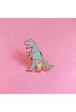 ThriftBoxUK Tyrannosaurus Rex Dinogami Pin