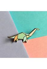 ThriftBoxUK Apatosaurus Dinogami Pin