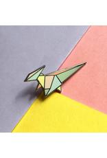 ThriftBoxUK Parasaurolophus Dinogami Pin