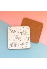ThriftBoxUK Dinogami Coaster