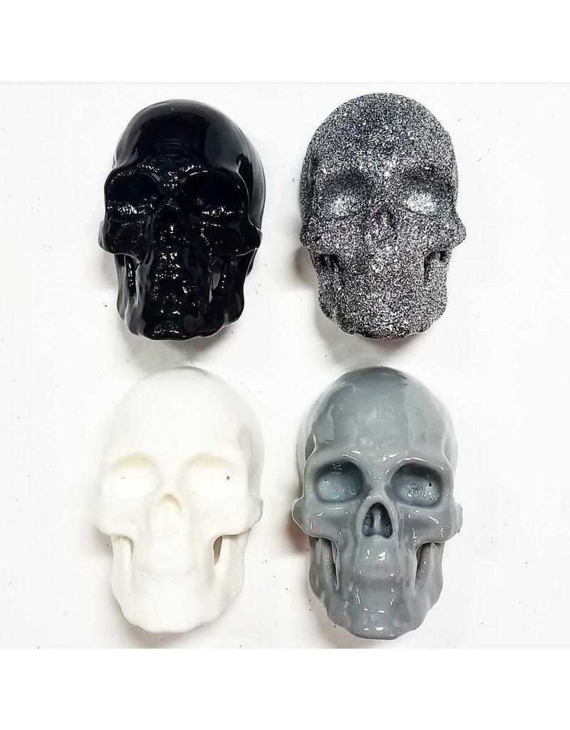 Monka! Goods Skull Magnet (Set of 4)