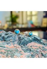 Chalisa Jewelry Turquoise Stud Earrings