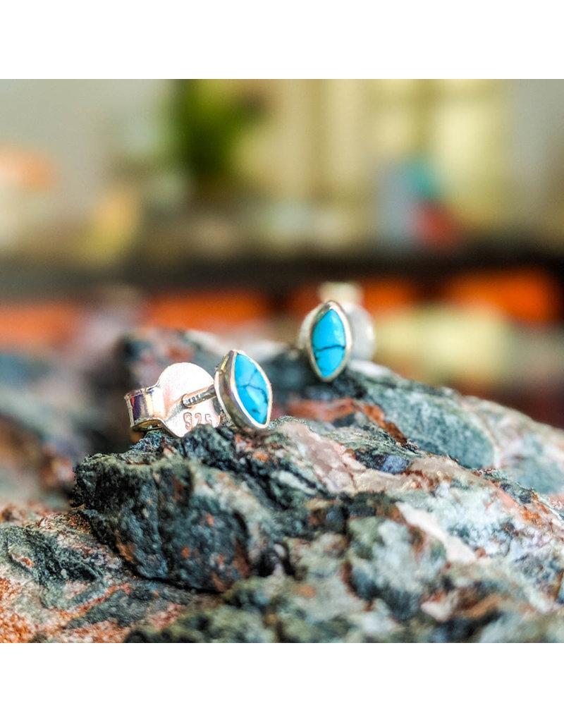 Turquoise Stud Earrings