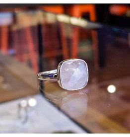 Rose Quartz Ring 7