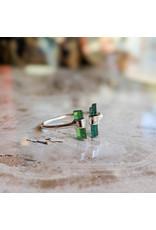 Chalisa Jewelry Two Tourmaline Pencil Ring