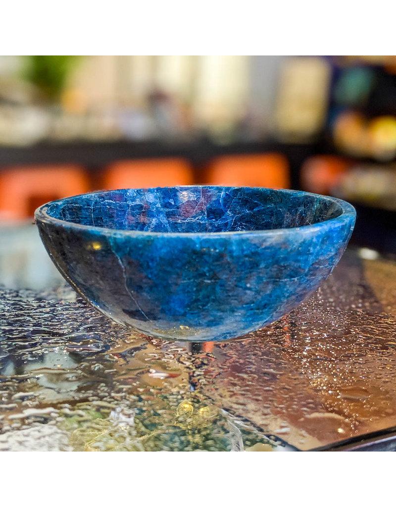 Apatite Bowl 10cm 241g Madagascar