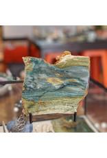 JH Stone Galleria Petrified Swamp Bog 112x97x5mm 103g Oregon Miocene