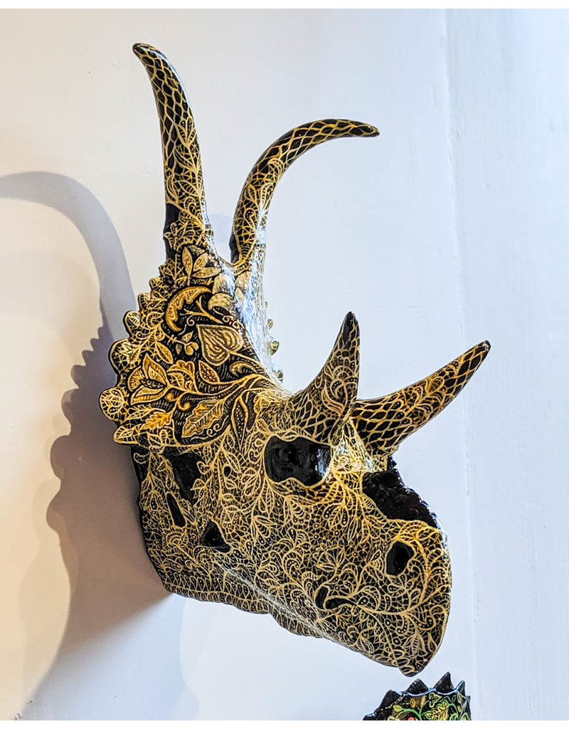 Louis Habeck and Jennifer Eli French Diabloceratops 335x240x210mm 784g