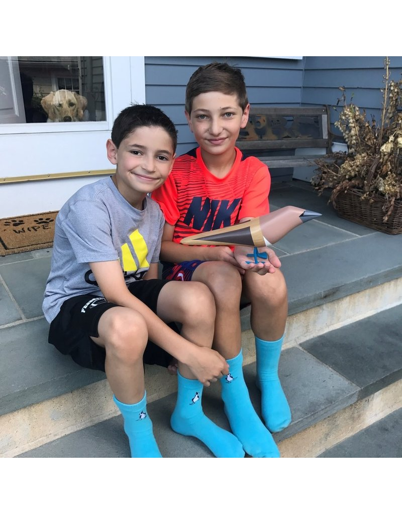 The Blue Feet Foundation Blue Footed Booby Socks