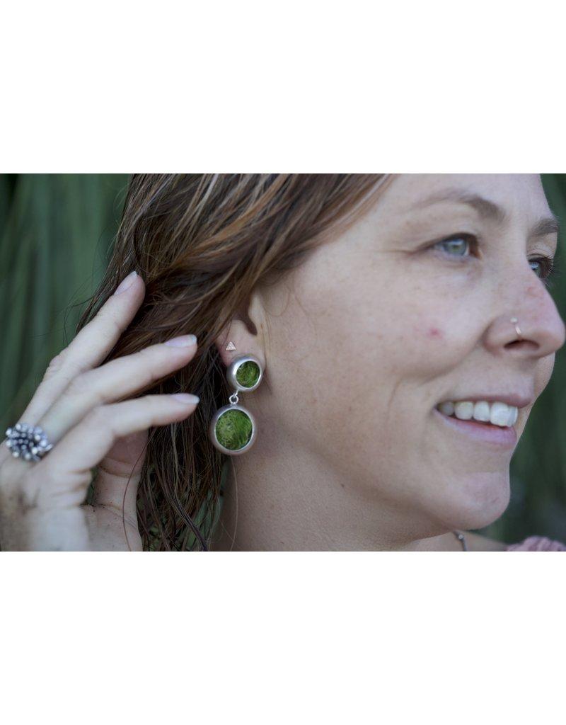 Hannah Alexandra Moss Earrings