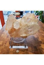 Caroline Cocciardi Quartz Cluster with Stand 27x29x27cm 14.5kg
