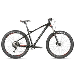 Haro Haro Double Peak 27.5 Plus+ Comp 2019, Black/Red