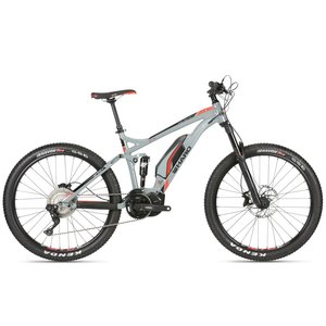 Haro Haro Shift Plus+ i/O 9 2019, Cool Grey / Neon Red