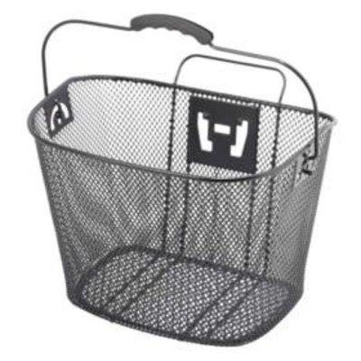 XLC XLC, front Steel Mesh QR Basket Bk