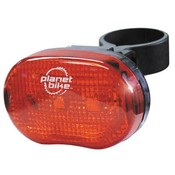 PLANET BIKE Planet Bike Blinky 3 Taillight: Red/Black