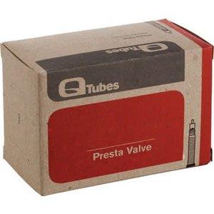 """Q-Tubes Q-Tubes 20"""" x 1-1/8 - 1-3/8""""  60mm Presta Valve Tube"""