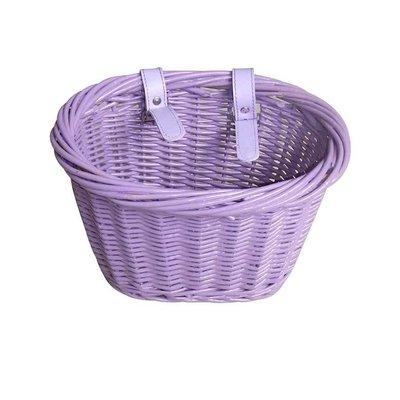 EVO EVO, E-Cargo Wicker Jr, Basket, Purple
