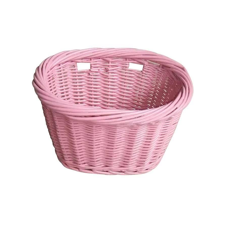 Evo E Cargo Wicker Jr Basket Pink