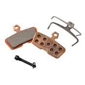 Avid Avid, Code 2011+ Disc brake pads, Sintered metal, Steel back plate, pair