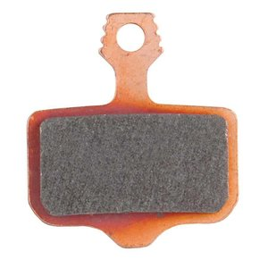 Avid Avid, Elixir, DB, Level, Level T, Level TL Disc brake pads, Sintered metal, Steel back plate, pair