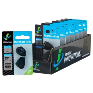 Genuine Innovations Genuine Innovations, Microflate Nano, CO2 Inflator, No cartridge, Black