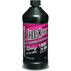Maxima Maxima Racing Oils, Racing SHock Fluid Light 75-390, 3wt, 32oz