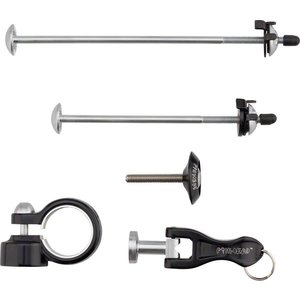 Pinhead Pinhead 4-Pack Lockset: Wheel Skewer Set, Seat, Fork Top Cap