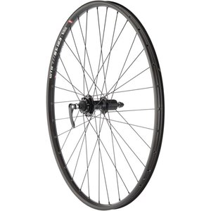 "Quality Wheels Quality Wheels Mountain Disc Rear Wheel 29"" 135mm QR SRAM 406 6-bolt / WTB ST i23 Tubeless Black 32h"
