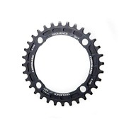 Chromag Chromag, Sequence, 28T, 10/11sp, BCD: 94, 4, Chainring, 7075-T6 Aluminum, Black