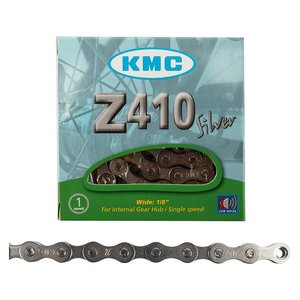 KMC KMC, Z410, Chain, 1sp., 112 links, Silver