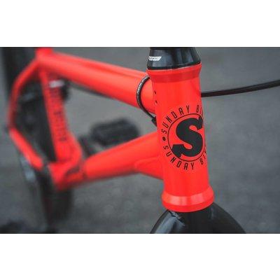 Sunday BMX Sunday BMX Forecaster 2019, Matte Fire-Engine Red (Brett Silva Sig)