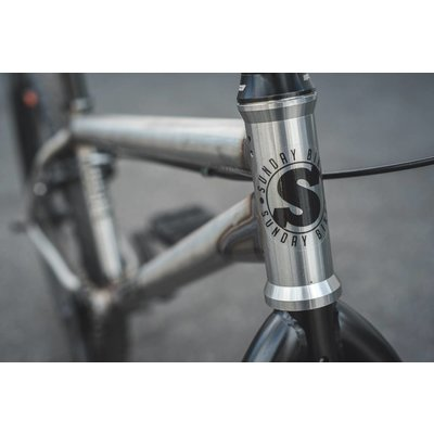 Sunday BMX Sunday BMX Model C 2019, Gloss Raw
