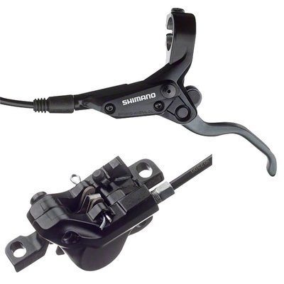 Shimano Shimano Altus BL-M425, BR-M395 Pre-Bled Rear Disc Brake Resin Pad 1700mm Hose, Black