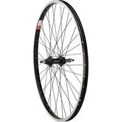 """Sta-Tru Sta-Tru Rear Wheel 26"""" x 1.5"""" Solid Axle, 36 Spokes, 5-8 Speed Freewheel, Includes Axle Nuts, Black"""