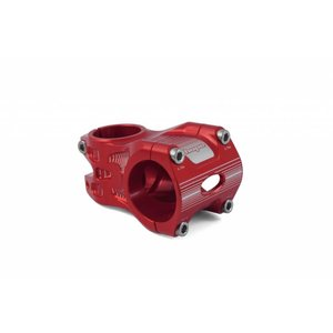 Hope Hope AM Stem, 0 deg, 50mm length, 35mm clamp, Red