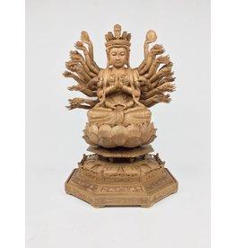 Wooden Kwan Yin Statue