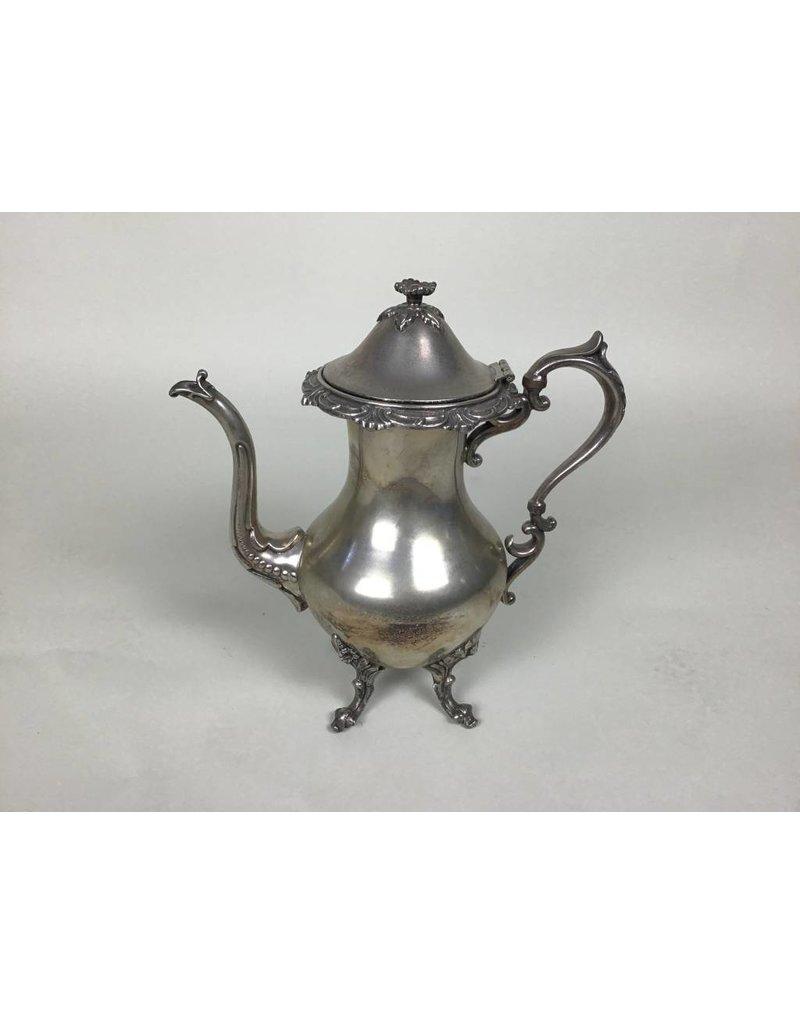 Tall Silver Plated Tea Pot