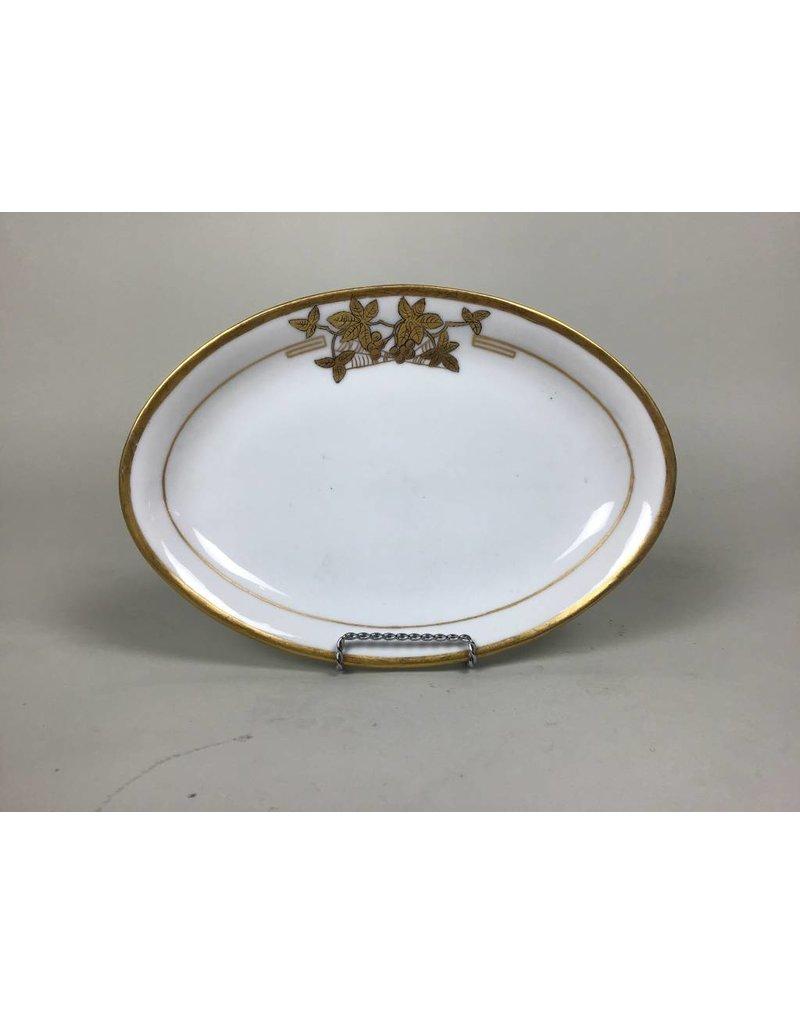 White/Gold Platter
