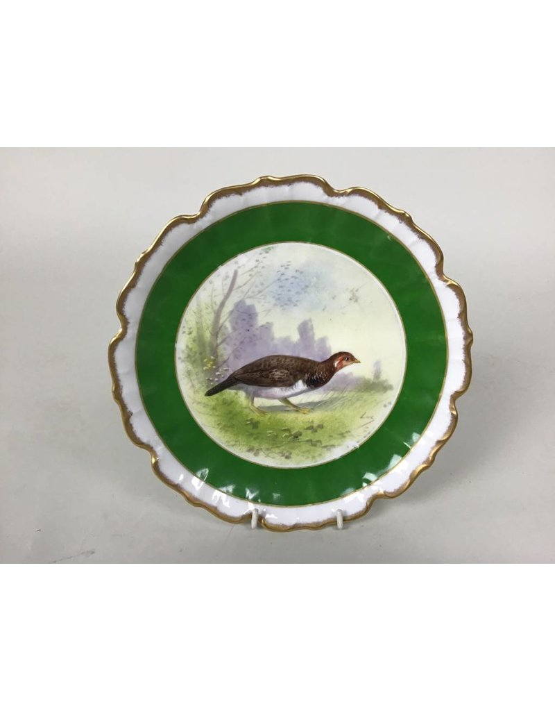 Painted French Dish
