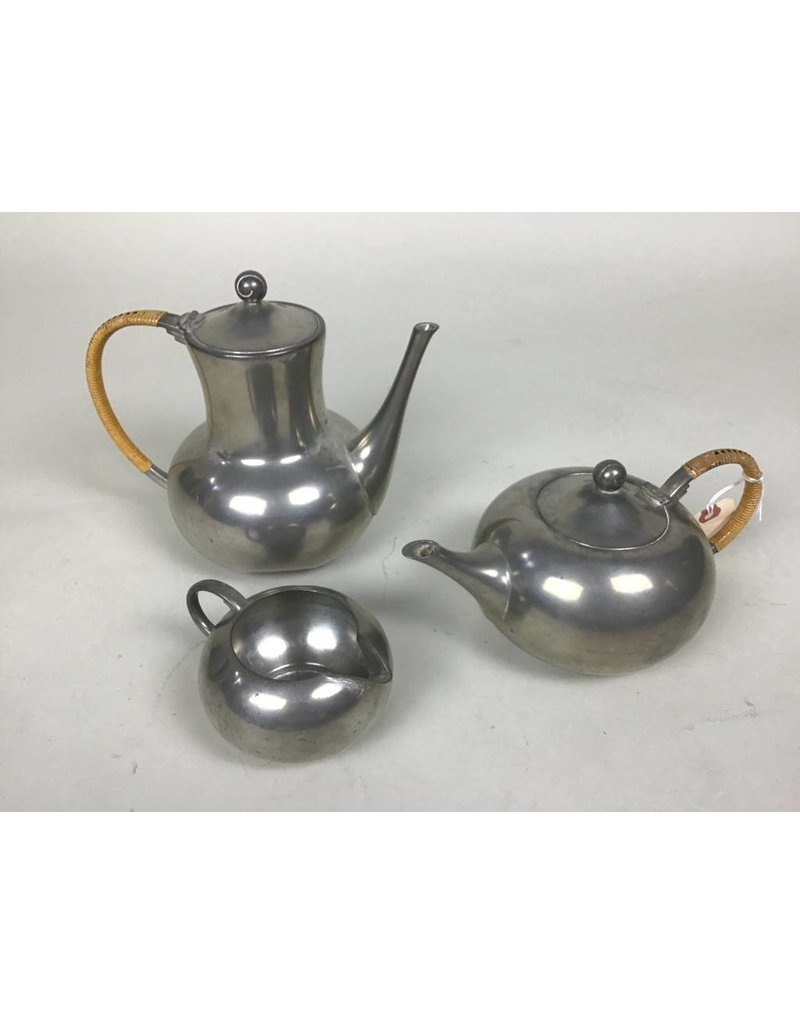 Silver Plated Tea Pitchers (3)