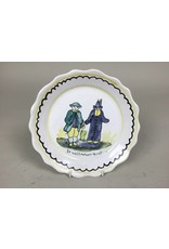 French Decorative Plate